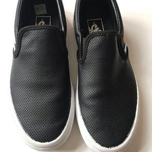f8bc1470f99 Vans Shoes - Classic Vans slip ons. Men 4.5 women 6